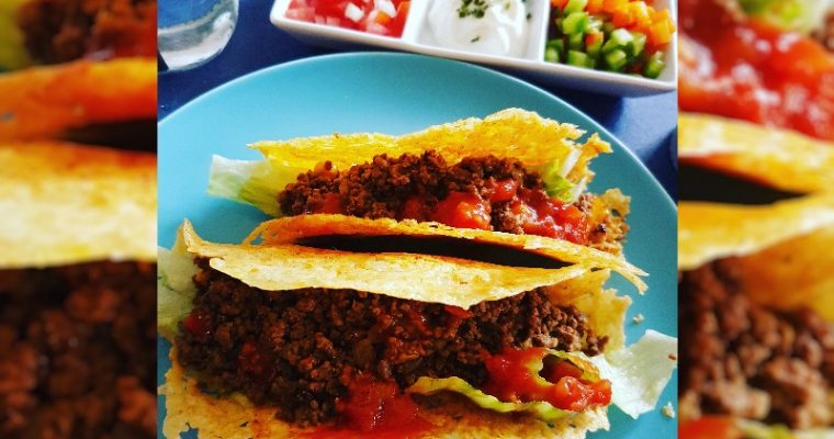 Low Carb Kaas Taco's en Tacokruiden