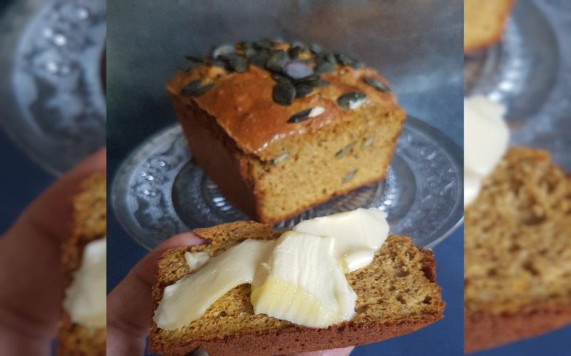 Pompoenbrood met Roomboter | LowCarb-Rita.nl
