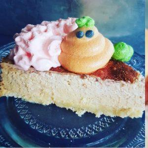 Low Carb Pompoencheesecake met een Kaneellaagje