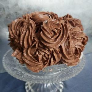 Keto Chocolade Brownie Taart