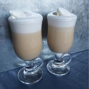 Witte Chocolade Latte met Slagroom