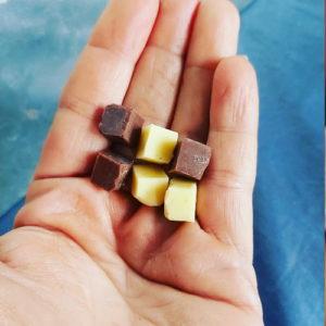 Low Carb Witte en Bruine Chocolade